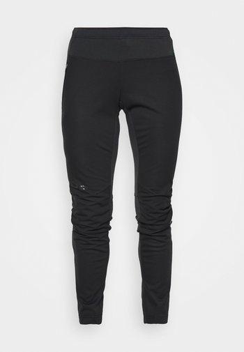 WOMENS WINTRY PANTS - Friluftsbukser - black