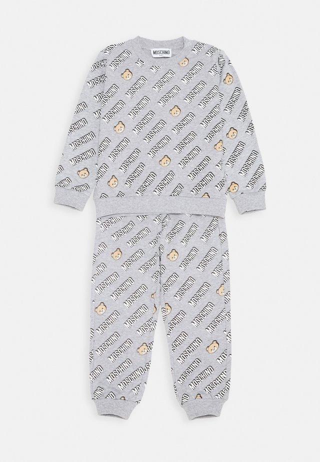 TRACKSUIT SET - Sweatshirt - grey melange