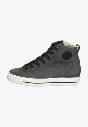 Zapatillas altas - grau/schwarz