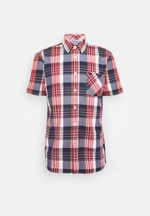 COLLIN BASIC CHECK - Shirt - navy