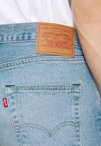 Levi's® - 501® HEMMED - Denim shorts - light-blue denim - 4