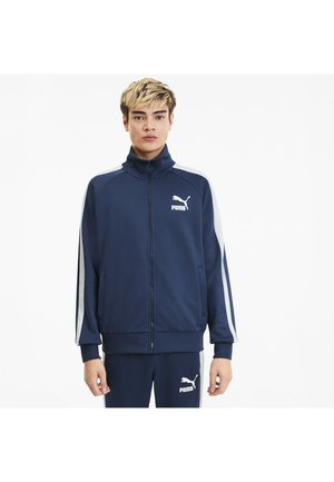 PUMA ICONIC T7 MEN'S TRACK JACKET MALE - Træningsjakker - dark denim