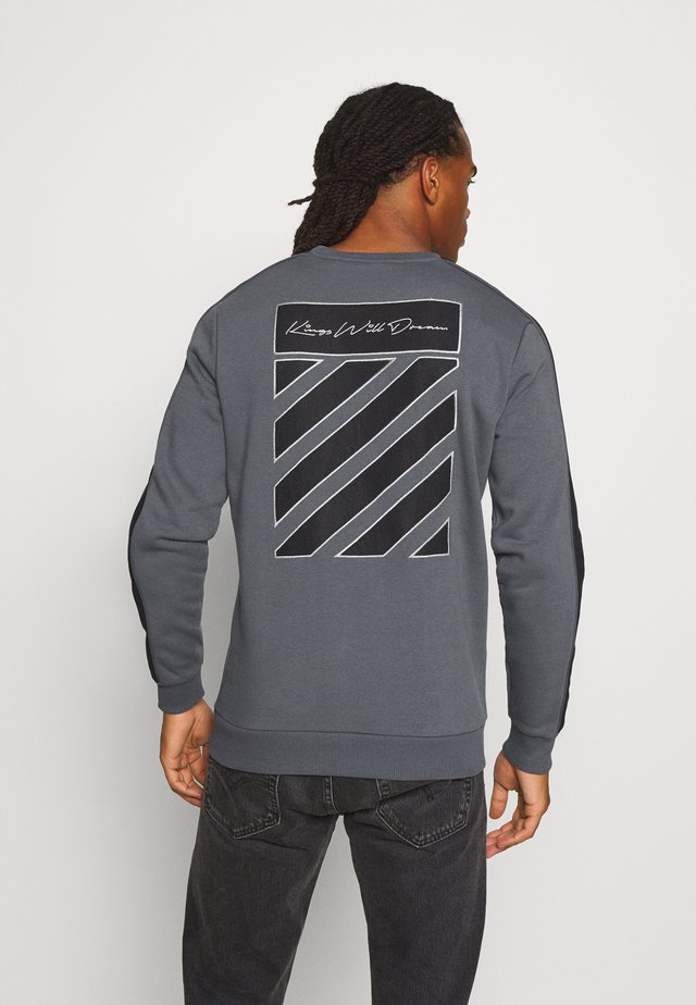 MLORTON CREW - Sweater - charcoal