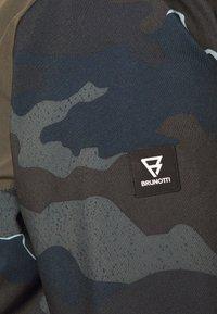 Brunotti - IDAHO MENS SNOWJACKET - Snowboardová bunda - cyber yellow - 7