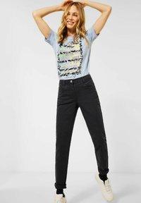 Cecil - Slim fit jeans - carbon grey - 0