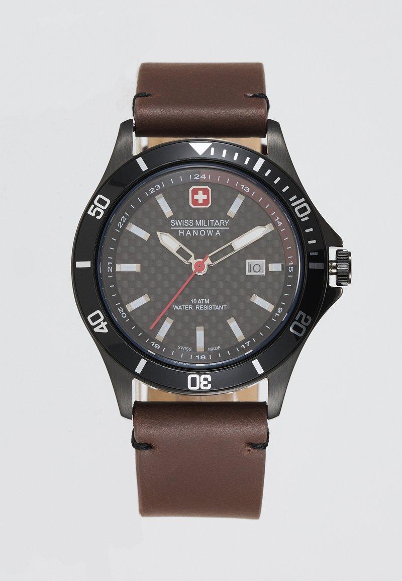 Swiss Military Hanowa - FLAGSHIP RACER - Watch - black
