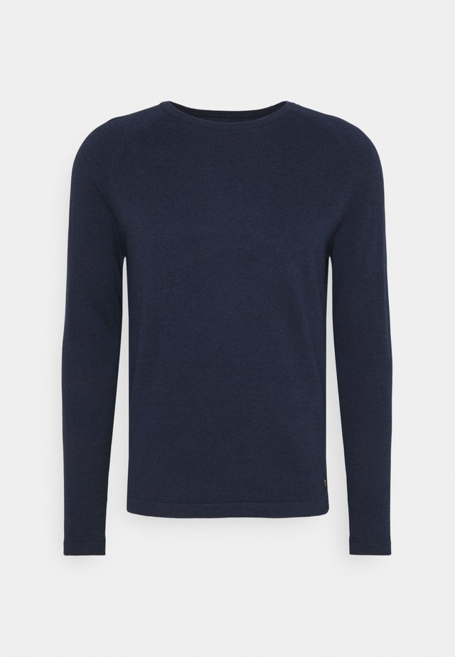BASIC CREWNECK - Trui - sky captain blue