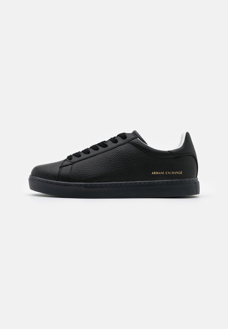 Armani Exchange - CLEAN CUPSOLE - Trainers - black