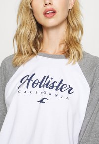 Hollister Co. - SPORTY - Top s dlouhým rukávem - grey - 5