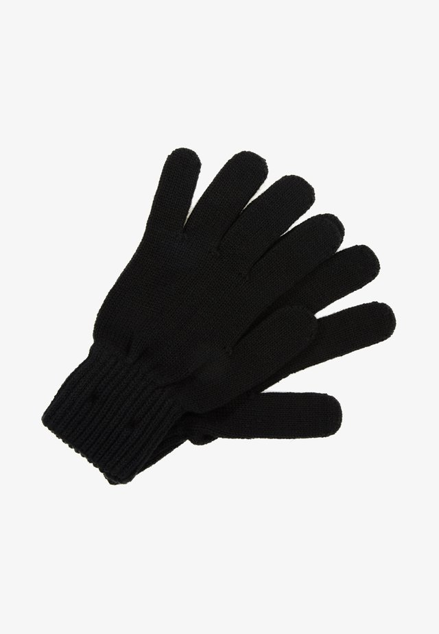 BASIC FLAG GLOVES - Guanti - black
