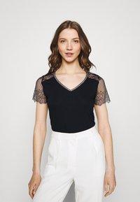 Morgan - DEXIA - T-shirt print - marine - 0