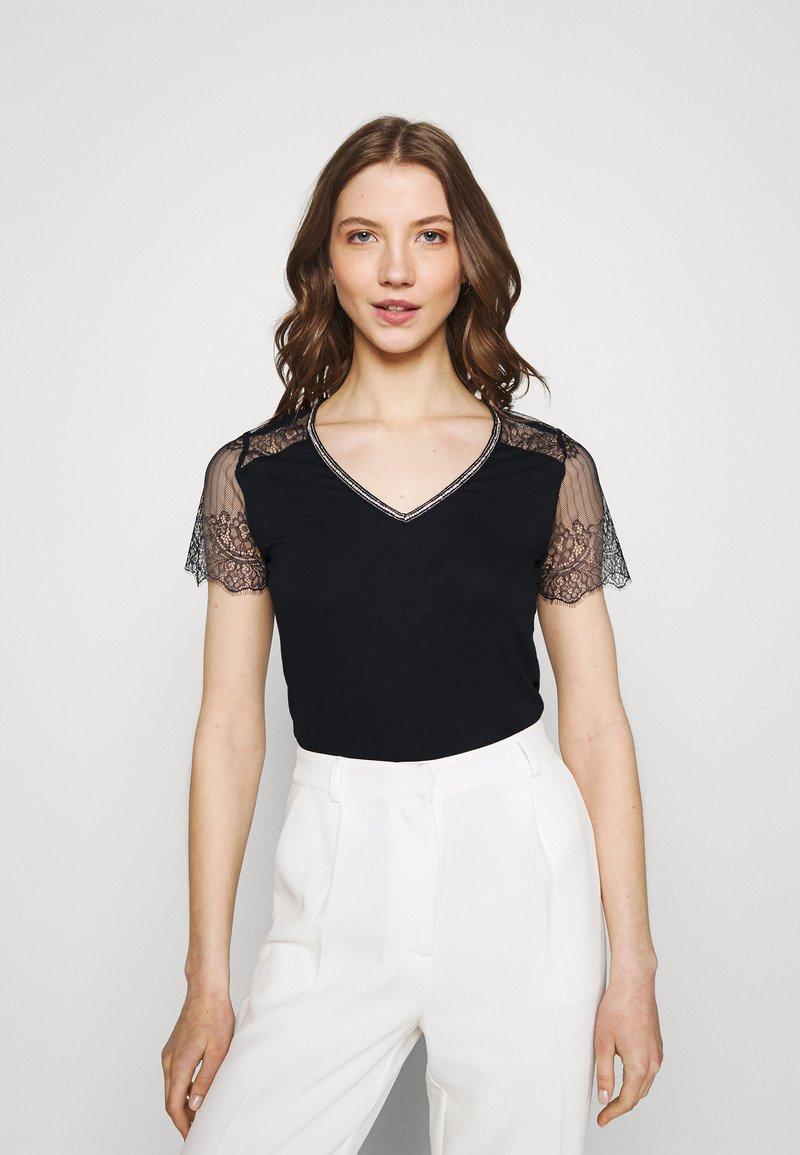 Morgan - DEXIA - T-shirt print - marine