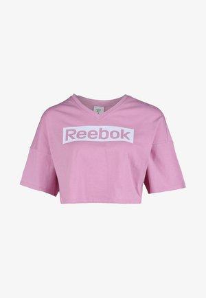 Print T-shirt - jasmine pink