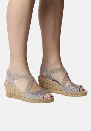 SOL - Wedge sandals - plati