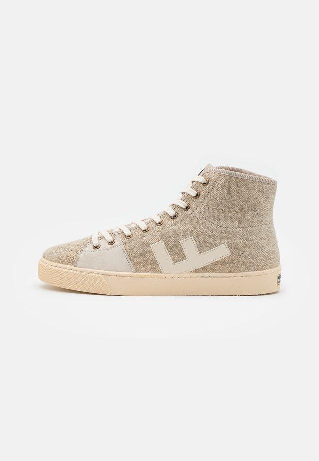 EL CAMINO UNISEX - Sneakers alte - crude/ivory