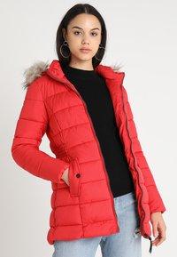 ONLY - ONLNORTH COAT  - Winter coat - goji berry - 0