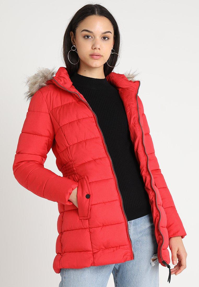 ONLY - ONLNORTH COAT  - Winter coat - goji berry