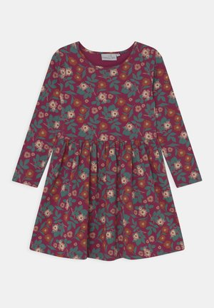 FLORAL ECO - Jersey dress - berry