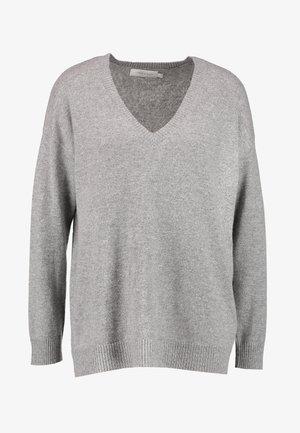 LUXALN - Svetr - light grey melange