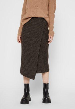 A-line skirt - mole