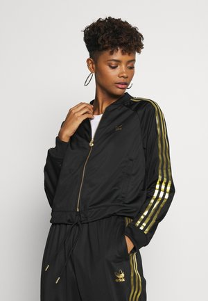 SUPERSTAR 2.0 SPORT INSPIRED TRACK TOP - Sportovní bunda - black