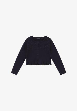 KIDS RUFFLE - Vest - nachtblau