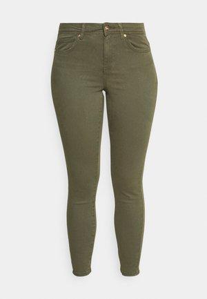ONLWAUW LIFE MID - Skinny džíny - kalamata