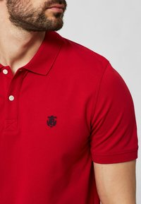 Selected Homme - SLHARO EMBROIDERY - Polo shirt - red - 3