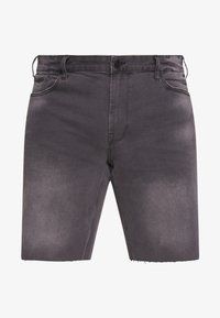 Only & Sons - ONSPLY RAW HEM - Denim shorts - grey denim - 4