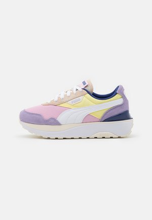 CRUISE RIDER SILK ROAD - Sneakers basse - pink lady/yellow pear