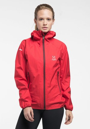 L.I.M - Waterproof jacket - hibiscus red
