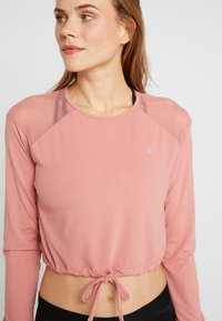 ONLY Play - ONPJAVA CROPPED TEE - Langærmede T-shirts - dusty rose - 5