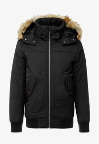TOM TAILOR DENIM - TRIMMED BOMBER - Veste d'hiver - black - 5