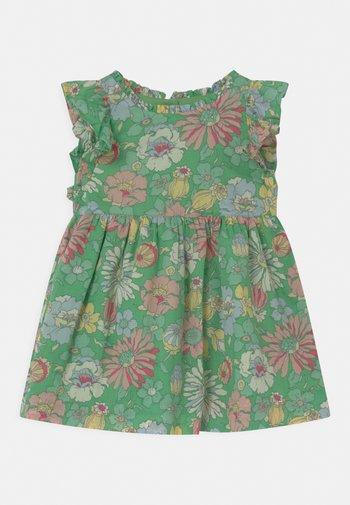 SET - Robe chemise - carmel green