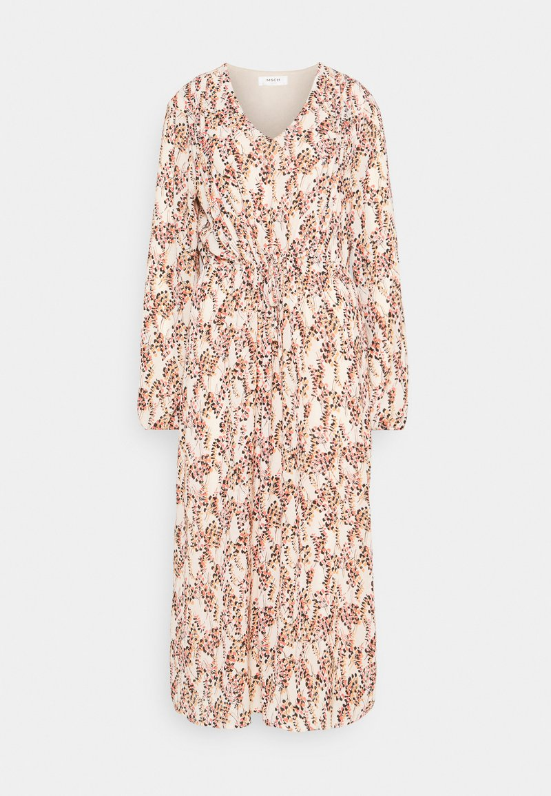 Moss Copenhagen - CAMLY RIKKELIE DRESS - Day dress - beige