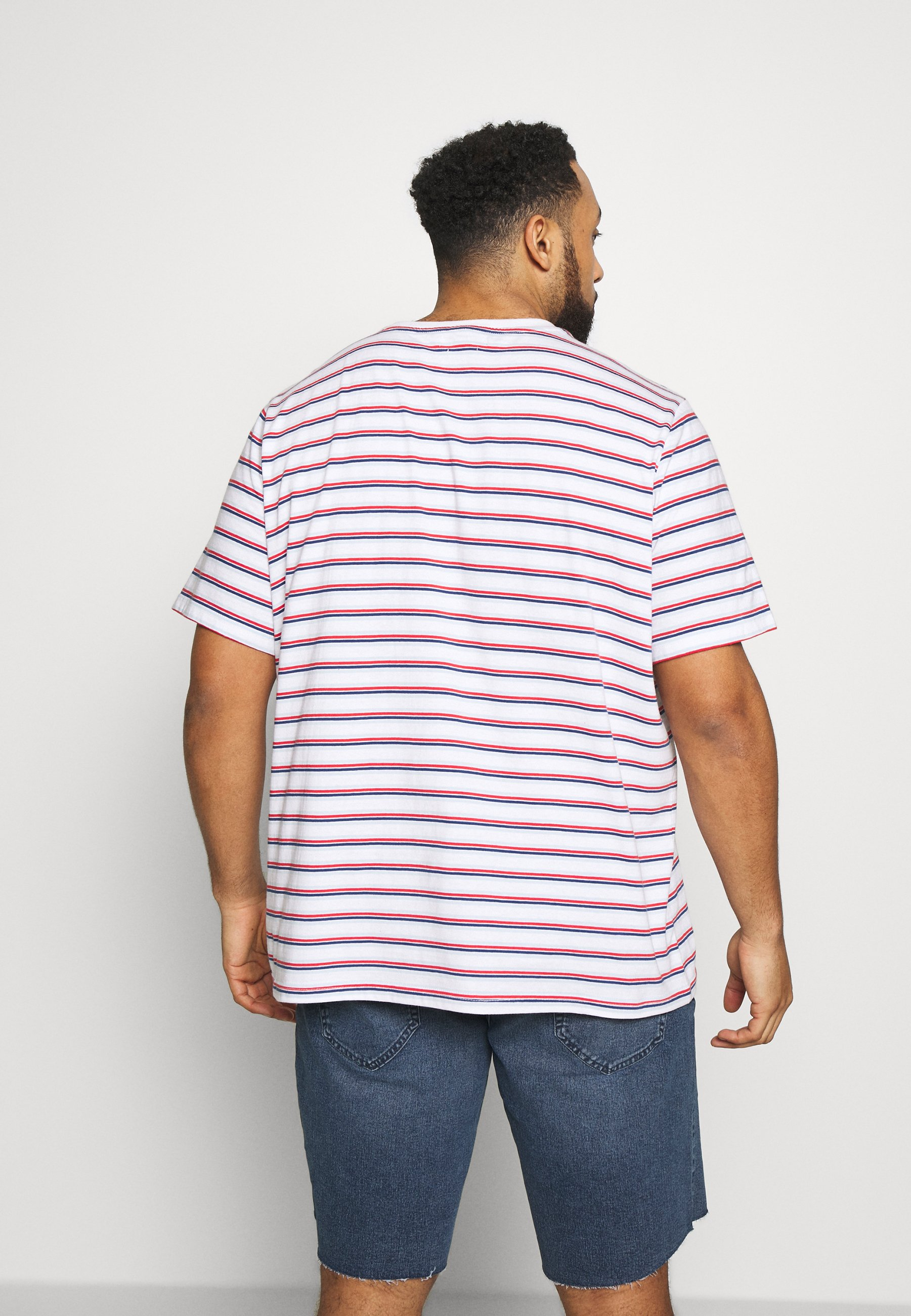 Another Influence STRIPED PLUS - Print T-shirt - multi oDz1a