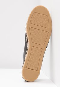 Tory Burch - INES - Espadrilles - perfect black/silver - 6