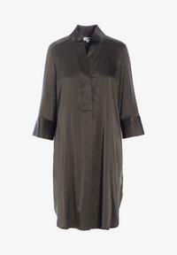 Dea Kudibal - KAMILLE - Shirt dress - dark olive - 3