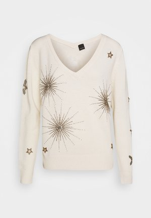 BARBUDA - Sweter - white