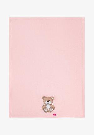 Baby blanket - rose bear