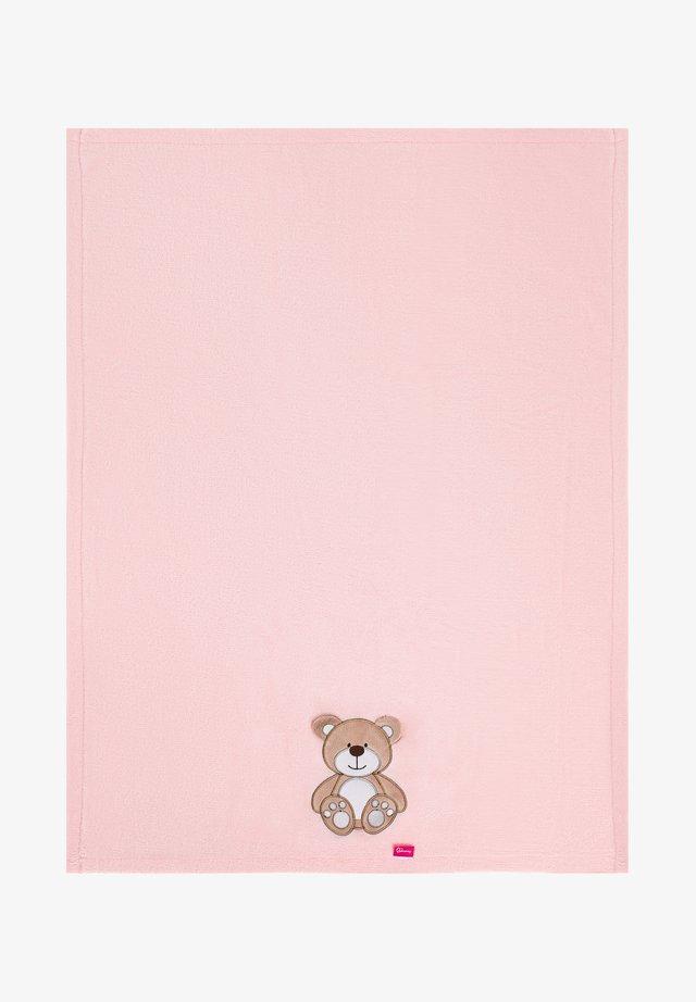 Manta de bebé - rose bear