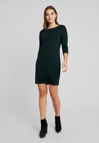 Vila - VITINNY - Day dress - black/pine grove - 0