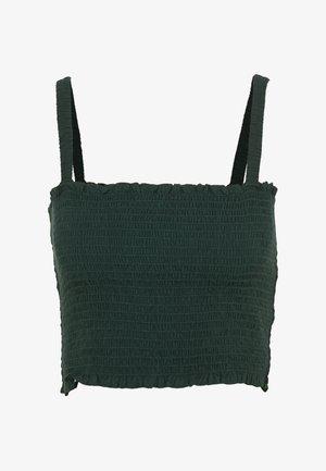 KAYDEN TOP - Topper - dark green