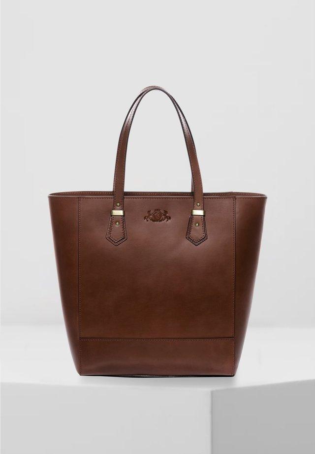 SHOPPER - TRISH - Tote bag - braun