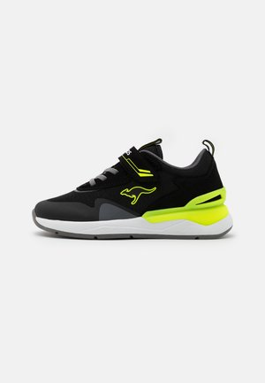 KD-GYM  - Trainers - jet black/neon yellow