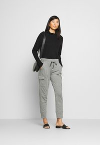 Opus - ELENI - Trousers - easy grey - 1