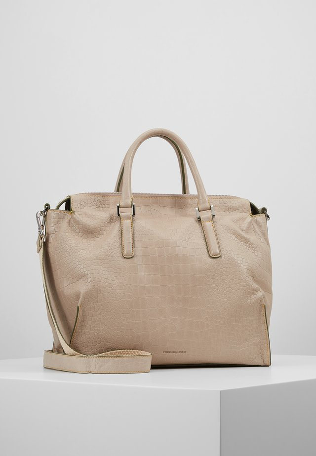 TERRY - Handbag - beige
