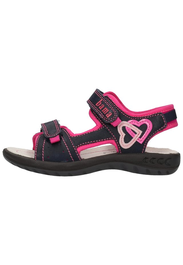 BAMA SANDALEN - Walking sandals - dunkelblau 21