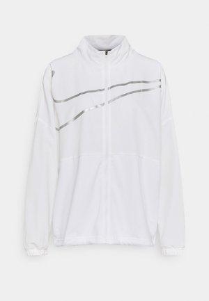 Treningsjakke - white/metallic silver