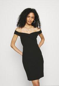 Anna Field - DRESS - Sukienka etui - black - 0